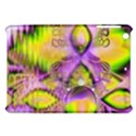 Golden Violet Crystal Heart Of Fire, Abstract Apple iPad Mini Hardshell Case View1