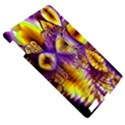 Golden Violet Crystal Palace, Abstract Cosmic Explosion Apple iPad 3/4 Hardshell Case View5