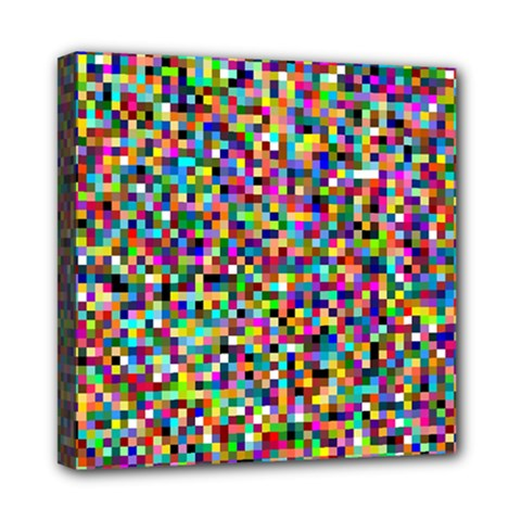 Color Mini Canvas 8  X 8  (framed) by Siebenhuehner