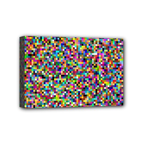 Color Mini Canvas 6  X 4  (framed) by Siebenhuehner