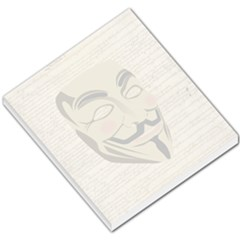 We The Anonymous People Small Memo Pad by StuffOrSomething