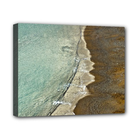 Wawe2 Canvas 10  X 8  (framed) by NoemiDesign
