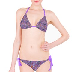 Purple Paisley Bikini by StuffOrSomething