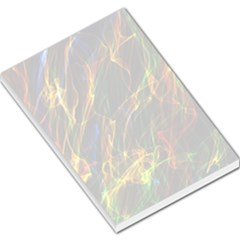 Abstract Smoke Large Memo Pad by StuffOrSomething