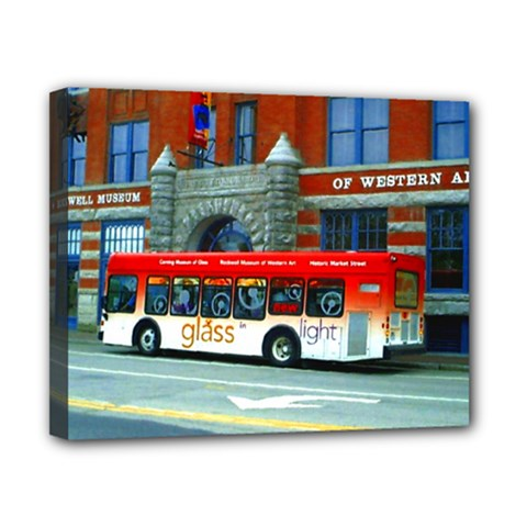 Double Decker Bus   Ave Hurley   Canvas 10  X 8  (framed) by ArtRave2