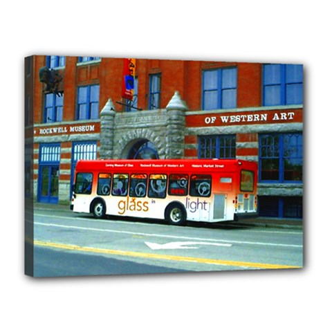 Double Decker Bus   Ave Hurley   Canvas 16  X 12  (framed) by ArtRave2