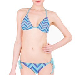 Chevron  Sea Bikini by Contest1888309