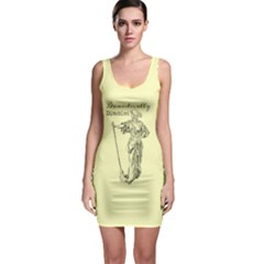 Domestically Disabled Bodycon Dress