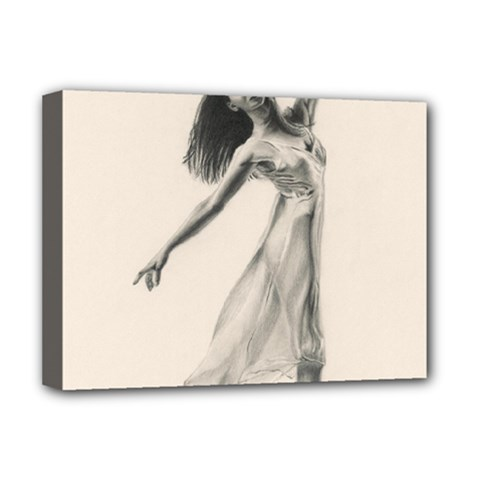 Perfect Grace Deluxe Canvas 16  X 12  (framed)