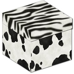 Animal Print Storage Stool 12  by Lalita