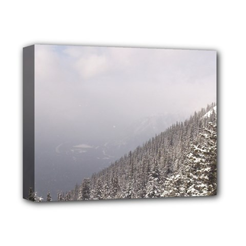 Banff Deluxe Canvas 14  X 11  (framed) by DmitrysTravels