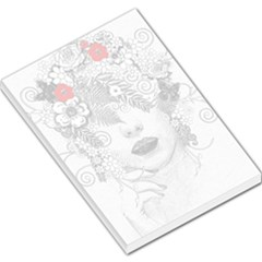 Flower Child Large Memo Pad by StuffOrSomething