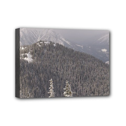 Mountains Mini Canvas 7  X 5  (framed) by DmitrysTravels