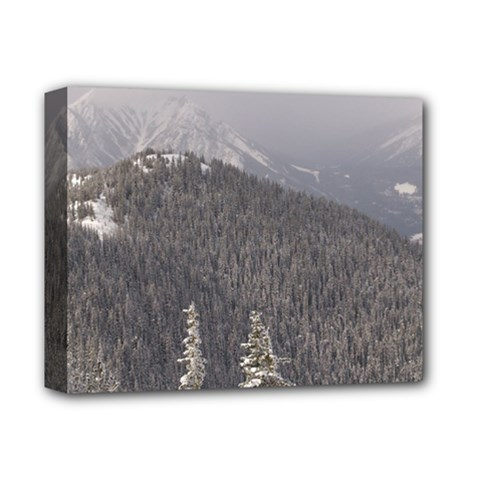 Mountains Deluxe Canvas 14  X 11  (framed) by DmitrysTravels