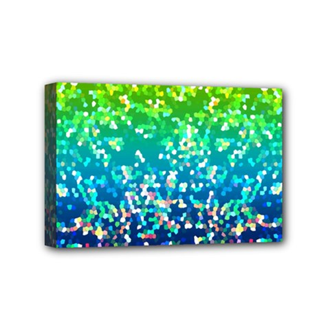 Glitter 4 Mini Canvas 6  X 4  (framed) by MedusArt
