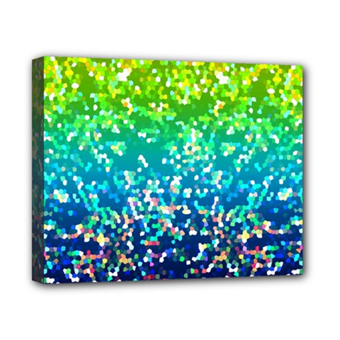 Glitter 4 Canvas 10  X 8  (framed) by MedusArt