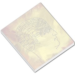 Brain Map Small Memo Pad by StuffOrSomething