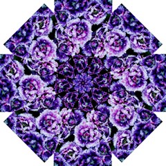 Purple Wildflowers Of Hope Straight Umbrella by FunWithFibro