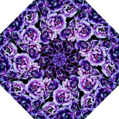 Purple Wildflowers Of Hope Golf Umbrella by FunWithFibro