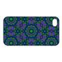 Retro Flower Pattern  Apple iPhone 4/4S Hardshell Case View1
