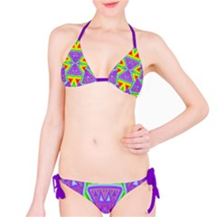 Trippy Rainbow Triangles Bikini