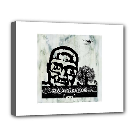M G Firetested Deluxe Canvas 20  X 16  (framed) by holyhiphopglobalshop1