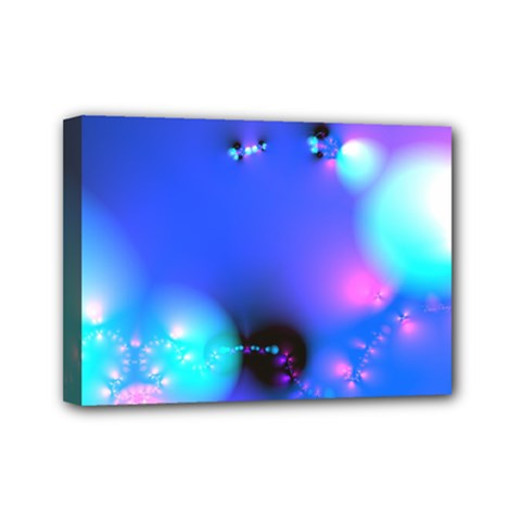 Love In Action, Pink, Purple, Blue Heartbeat 10000x7500 Mini Canvas 7  X 5  (framed) by DianeClancy
