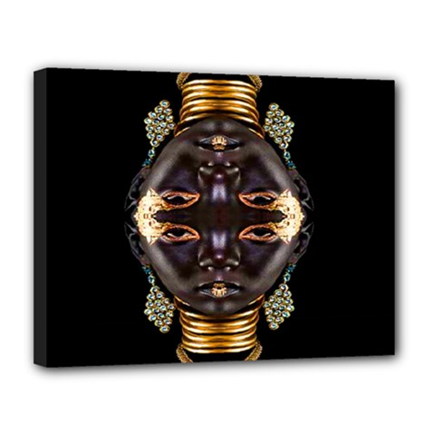 African Goddess Canvas 14  X 11  (framed) by icarusismartdesigns
