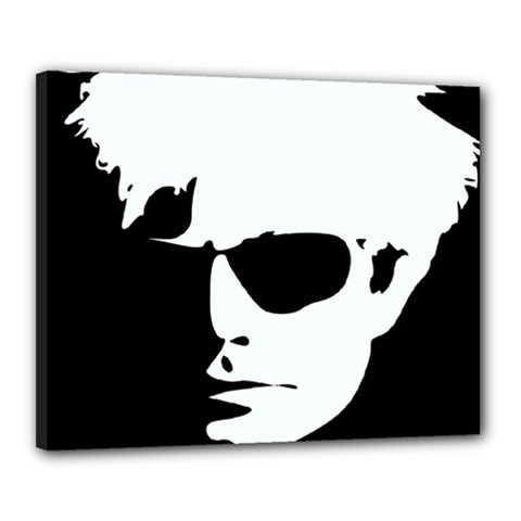 Warhol Canvas 20  X 16  (framed) by icarusismartdesigns