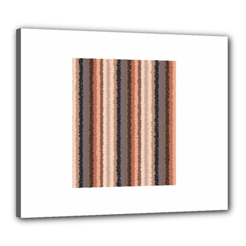 Native American Curly Stripes   4 Canvas 24  X 20  (framed) by BestCustomGiftsForYou