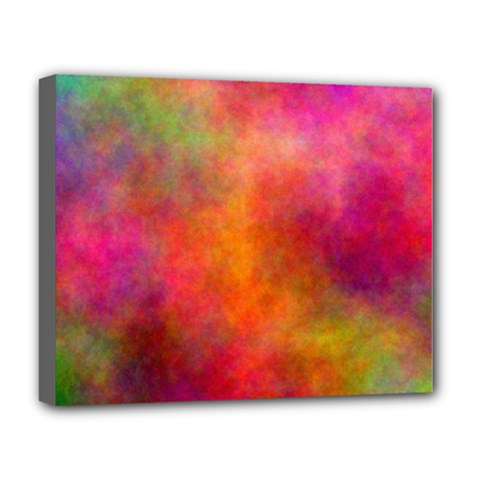 Plasma 10 Deluxe Canvas 20  X 16  (framed) by BestCustomGiftsForYou