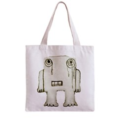 Sad Monster Baby Full All Over Print Grocery Tote Bag by dflcprints