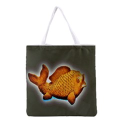 Goldfish Full All Over Print Grocery Tote Bag