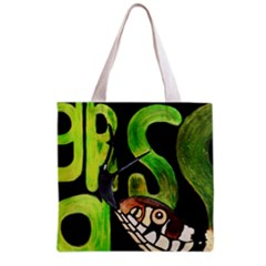 Grass Snake Full All Over Print Grocery Tote Bag by JUNEIPER07