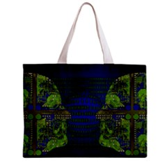 Binary Communication All Over Print Tiny Tote Bag