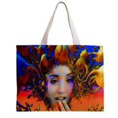 Organic Medusa All Over Print Tiny Tote Bag by icarusismartdesigns