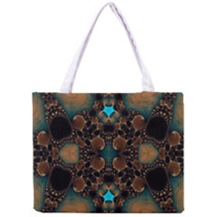 Elegant Caramel  All Over Print Tiny Tote Bag by OCDesignss