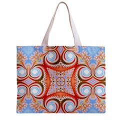 Fractal Abstract  All Over Print Tiny Tote Bag by OCDesignss