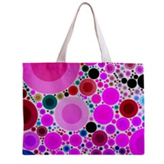 Bubble Gum Polkadot  All Over Print Tiny Tote Bag by OCDesignss