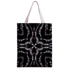 Black Onyx  All Over Print Classic Tote Bag by OCDesignss