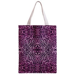 Pink Leopard  All Over Print Classic Tote Bag by OCDesignss