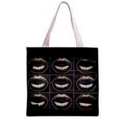 Black Liquor  All Over Print Grocery Tote Bag by OCDesignss