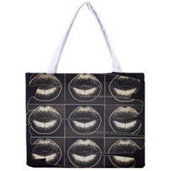 Black Liquor  All Over Print Tiny Tote Bag