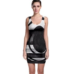 Crazy Beautiful Abstract Bodycon Dress by OCDesignss