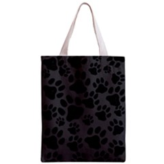 Black Cat All Over Print Classic Tote Bag by OCDesignss