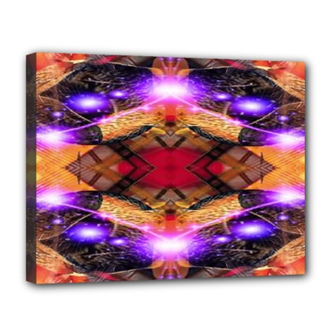 Third Eye Canvas 14  X 11  (framed) by icarusismartdesigns