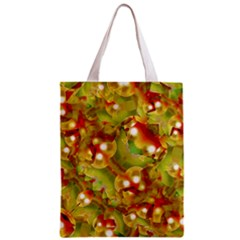 Christmas Print Motif All Over Print Classic Tote Bag by dflcprints
