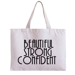 Beautiful Strong Confident  All Over Print Tiny Tote Bag by OCDesignss