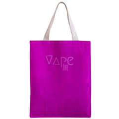Vape Life Hot Pink All Over Print Classic Tote Bag