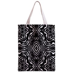 Zebra Twists  All Over Print Classic Tote Bag by OCDesignss